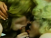 Christie Ford, Serena, Bobby Astyr in group 80s sex tube video