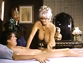There are so many amazing things going on in this vintage porn video