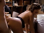 Bootylicious vintage slut gets her slit fingered and poked doggy style