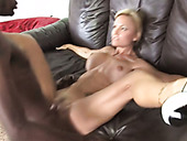 Short haired mature whore Cameron V gets fucked on the couch