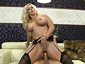 Buxom PAWG Alura Jenson loves to ride a dick and she blows like a pro