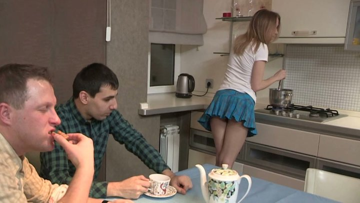 Kinky dude is pleased to watch how another man pokes his GF