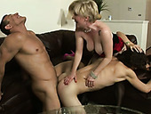 Dirty party ends up with hardcore swinger orgy