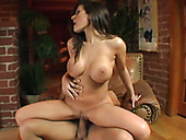 Wild and super sexy brunette MILF Zoe Matthews gets fucked doggy rough