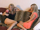 Two lesbian room mates finger fuck and lick each others anal holes