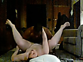 Pale skinned BBW slut black brutally in amateur sex video