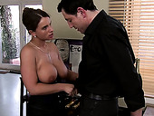 Private detective makes pics of cheating wifey sucking strong big cock