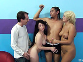 Whorish chick Layla Price takes part in awesome 3some scene