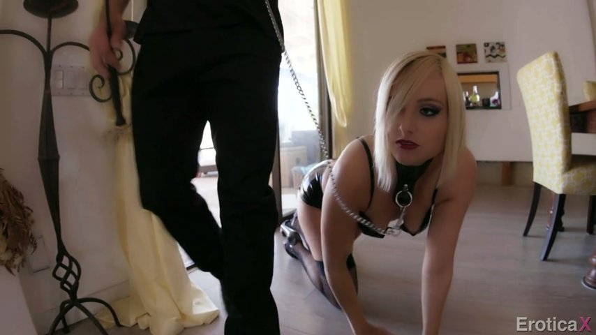 Something is. in fucked sultry a leash is girl did