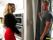Plumber fucks super adorable milf with huge boobs Corinna Blake