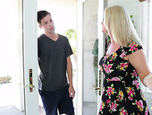 Juggy milf Maya Divine seduces friend of her stepson