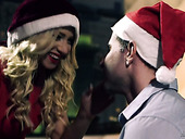 Seductive whore Kiara Lord enjoys having sex with hot tempered Santa