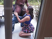 Jaw dropping whore Abella Danger has wild sex with hot tempered black neighbor
