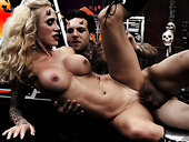 Deviless Sarah Jessieis fucked by hot tempered tattooed devil