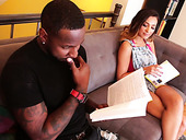 Petite chick Jaye Summers is fucked hard by strong black stud
