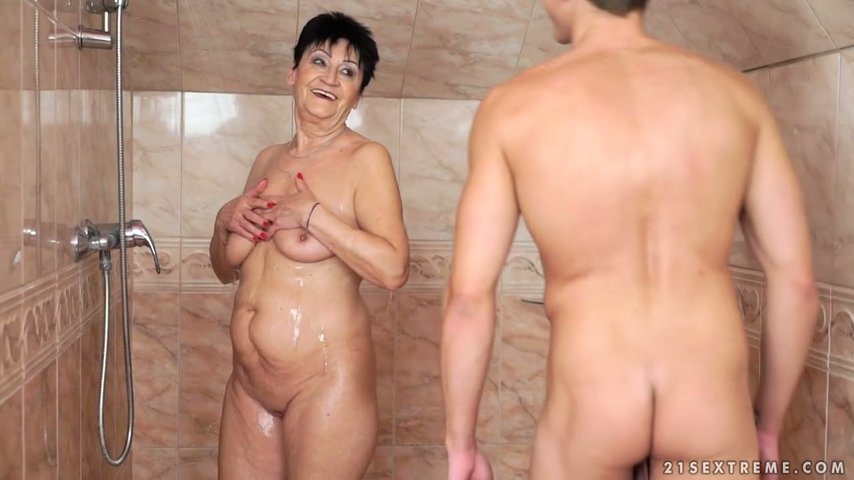 Granny Fucked Changing Room