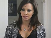 Crazy anal sex with fucking hot seductress Alysa Gap