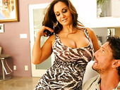 Slutty milf with jaw dropping assets Ava Addams has a quickie with her neighbor