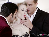 Captivating milf Ash Hollywood is fucked hard by a duo of dudes
