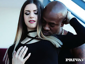 Graceful babe Stella Cox is fucked in her tight and juicy anal hole