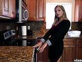 Sextractive housewife Sydney Cole enjoys having crazy sex with her boyfriend