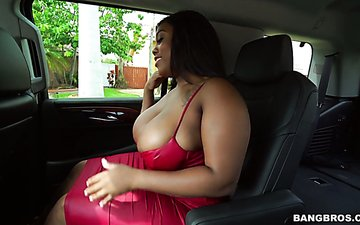 White dude with a big dick fucks super juggy and bootyful black chick Ms Yummy