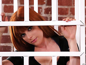 Hottie Aiden Starr fucks anal hole of sexually charged red head