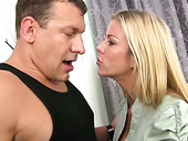 Sizzling harlot Alexis Fawx is having crazy nookie with one raunchy stud