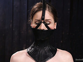 Sizzling babe Stella Cox is punished in the dark torture room