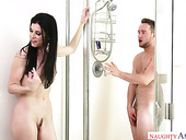 Slender milf India Summer is fucked by hot tempered neighbor