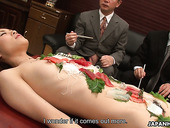 Delicious Japanese babe Tachiki Yui is fucked right at a business meeting