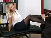 Sexually charged lawyer Jemma Valentine is fucked hard by horny judge