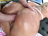 Bootyful hottie Candice Dare deserved cum load after steamy anal pounding
