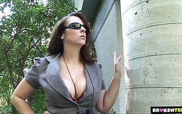 Slutty wife Jenny Hendrix is cheating on her husband with hot blooded BBC