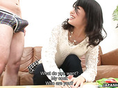 Japanese girlfriend Mika Shindo is fucked hard by hot blooded boyfriend