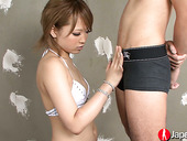 Sensual Japanese babe Ai provides her man with an unforgettable blowjob