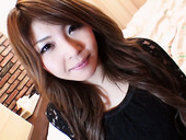 Sweet looking Japanese girl Maria Amane takes a dick in her hairy Asian pussy