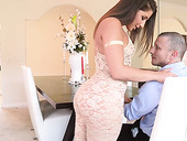 Gorgeous seductress in sexy lingerie Abella Danger is eager for crazy anal sex