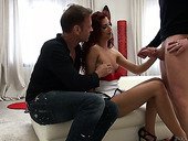 Rocco Siffredi and his fellow fuck Hungarian bitch Shona River