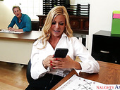 Office slut Alexis Fawx hooks up with her perverted co-worker