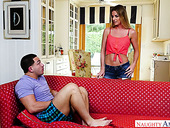 Addicted to hardcore sex mommy Sami St Clair seduces her stepson