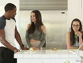 Yummy white chick Gia Paige is in the mood for crazy interracial sex