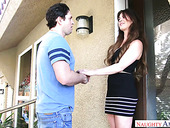 Sexually charged nextdoor babe Alice Lighthouse hooks up with kinky neighbor