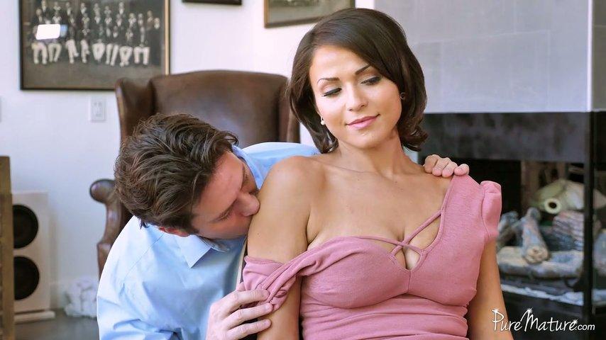 anal tits Big saggy