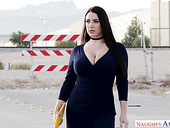 Sex-staved paramour Angela White is rushing to meet her lover