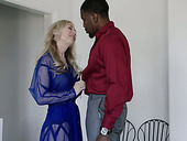 Mature Nina Hartley is having an affair with hot blooded BBC living nextdoor