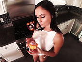 Fucking hot POV video starring naughty housewife Ariana Marie