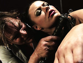 Skilled hooker Maia Davis and her assistants serve kinky clients in private BDSM club