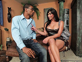 Sex-hungry shemale Vaniity is fucked by hot blooded black stud