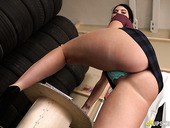 Sex-hungry hottie Kylie K shows off her fucking hot big ass